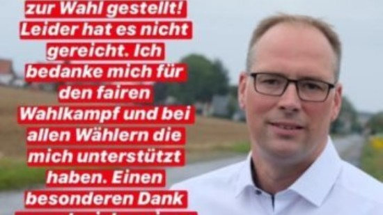 Andreas Baxmann nach Bürgermeisterwahl