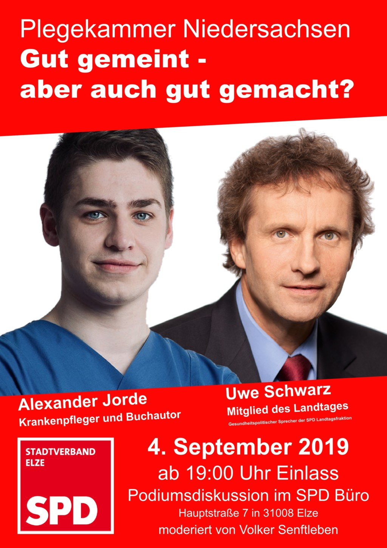 Plakat Pflegekammer September 2019
